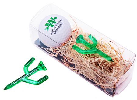 golf ball and tee az gift