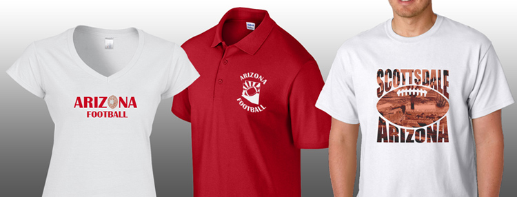 promotional custom print arizona t shirts